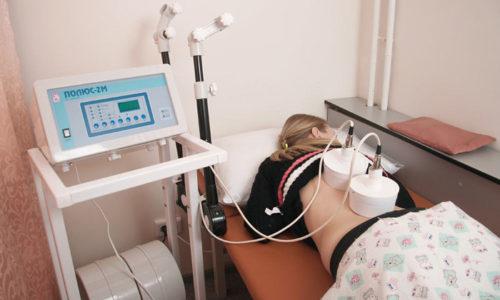После стихания острых проявлений болезни врач может назначить УВЧ