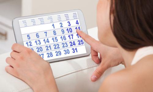 УЗИ во время месячных назначается на разные дни, и иногда у женщин его дата может совпадать с месячными