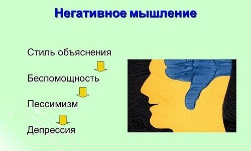 В основе психосоматического заболевания как у мужчин, так и у женщин лежит негативное мышление