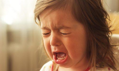 У малышей при цистите наблюдается плаксивость