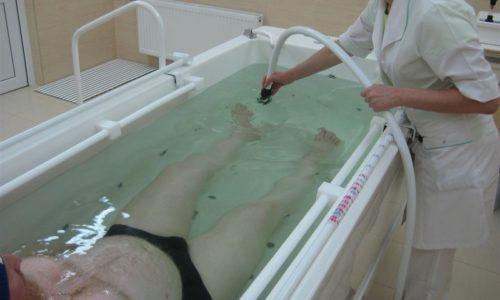 Ванны на основе концентрированного радиоактивного инертного газа радона применяются только в условиях стационара после тщательного обследования пациента