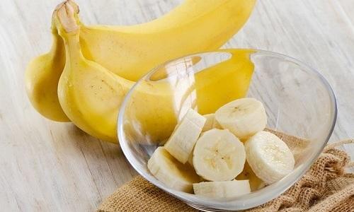 Исключить из меню при цистите нужно бананы