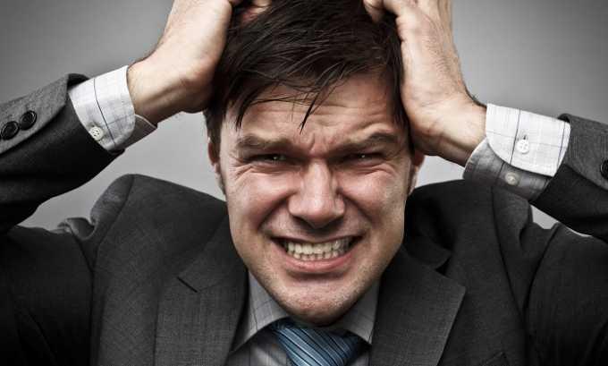 На фоне всех симптомов мужчина становится раздражительным