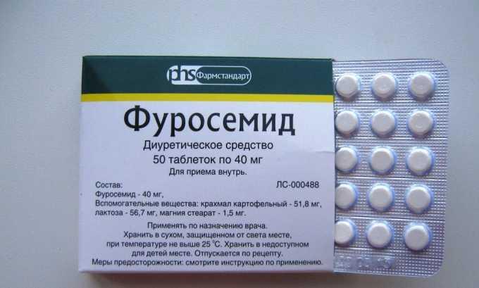 Фуросемид нормализует процессы выведения урины