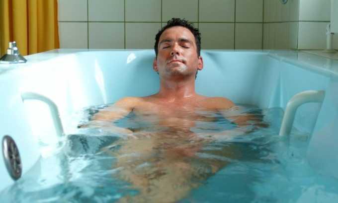 В домашних условиях при цистите у мужчин полезно делать ванны - общие, сидячие или полуванны с температурой воды +37...+38ºC