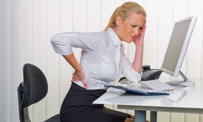 Развитию шеечного цистита способствует сидячий образ жизни