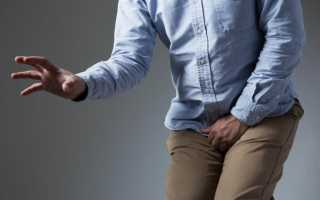 Резь и жжение при мочеиспускании у мужчин