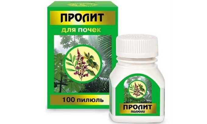 Пролит - лекарство с несколькими травами, которые благотворно влияют на состояние мочевого пузыря