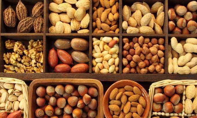 Рекомендуется употреблять орехи пр цистите