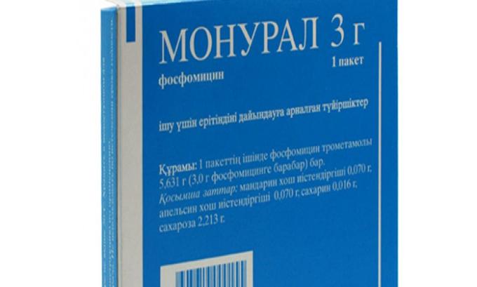 Эффективным средством, которое помогает справиться с циститом в короткие сроки, является Монурал