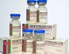Лечение антибиотиками: Цефтриаксон при цистите