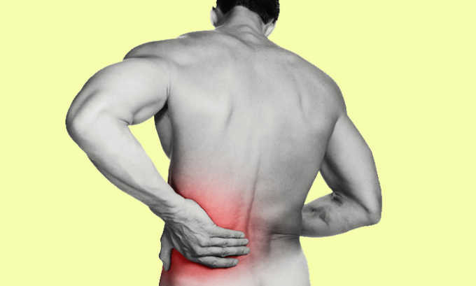 Дополнительным симптомом является боль в пояснице