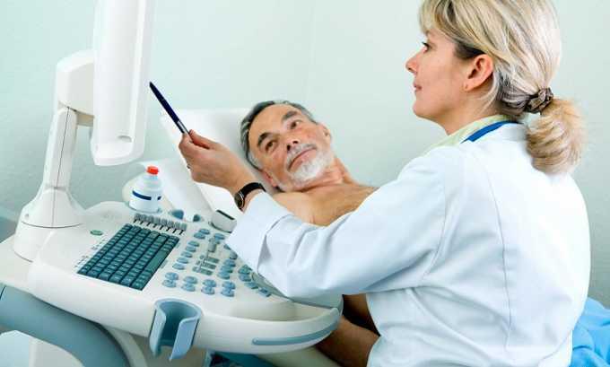 Для уточнения диагноза проводится УЗИ органов мочевыделительной системы