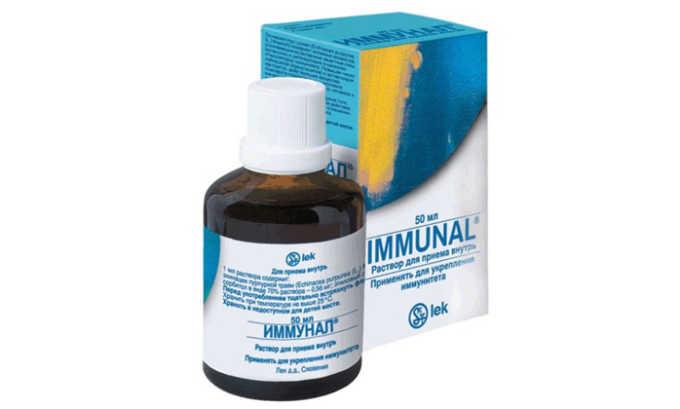 Иммунал используют для восстановления кишечной и влагалищной флоры