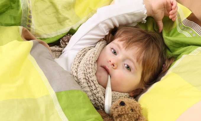 Цистит у малышей бывает обусловлен расстройством микроциркуляции на фоне острых вирусных заболеваний
