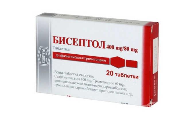 Бисептол не является антибиотиком (он относится к группе сульфаниламидов), но тоже негативно действует на микроорганизмы