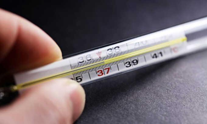 Повышенная температура до 38 являеться симптомом цистита