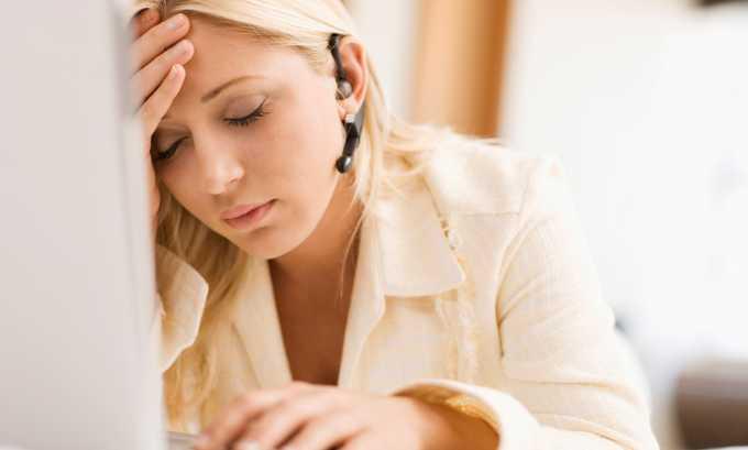 Причиной воспаления может быть хроническая усталость