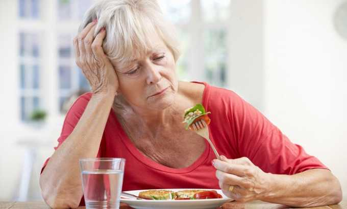 В острый период течения пиелоцистита часто происходит снижение аппетита