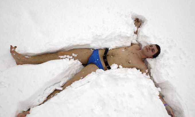 После бани не выходить на морозный воздух разгоряченным