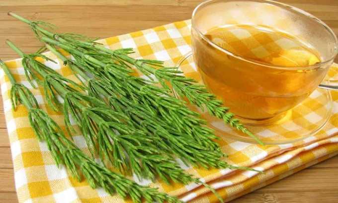 Хвощ полевой – мочегонный фитопрепарат. При лечении цистита принимают в виде отваров, чаев или настоев