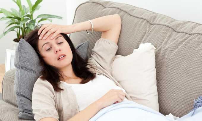 Слабость - симптом цистита