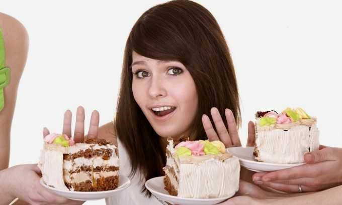 Лечение цистита предполагает соблюдение диеты. Беременным нужно отказаться от употребления сладостей