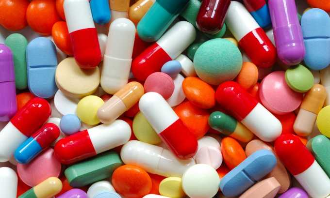 Прием медикаментов - причина воспалительного процесса