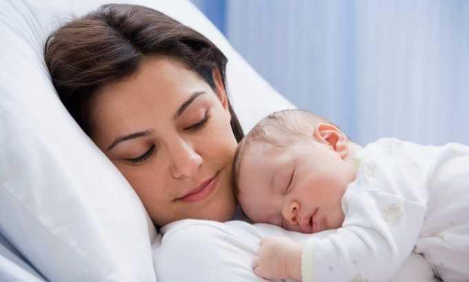 После рождения ребенка симптом исчезает без дополнительного лечения