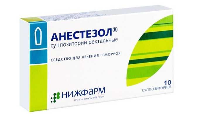 Анестезол подсушивает раны и обезболивает