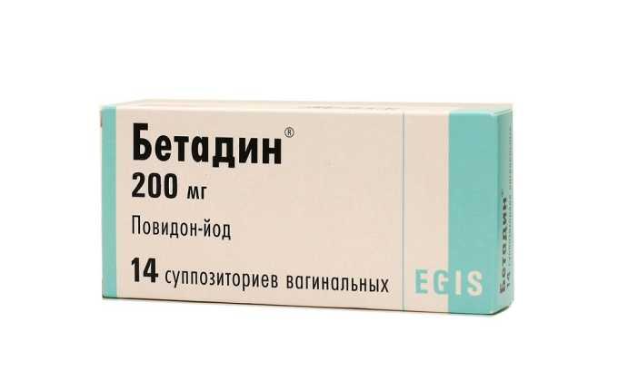 Бетадин — антисептик с широким спектром действия