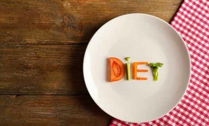 При цистите следует соблюдать диету