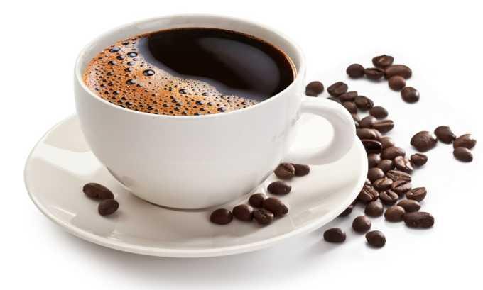 Из рациона необходимо исключить крепкий кофе