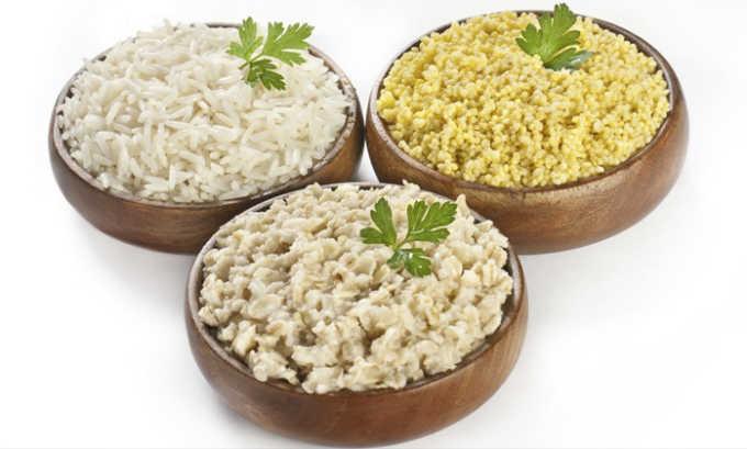 Крупы из цельного зерна полезны при цистите