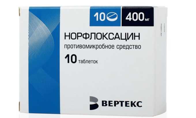 Норфлоксацин назначают для устранения патогенной микрофлоры