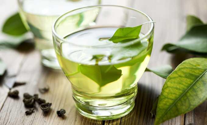 Рекомендуется пить травяной чай