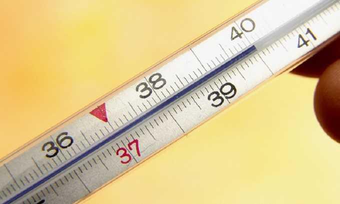 Повышение температуры может быть симптомом цистита у девочек