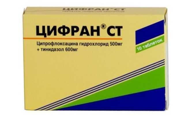 Антибиотик Цифран направлен на уничтожение возбудителя инфекции. Таблетки принимают в течение 5-7 дней, лечение не прекращают после исчезновения симптомов болезни