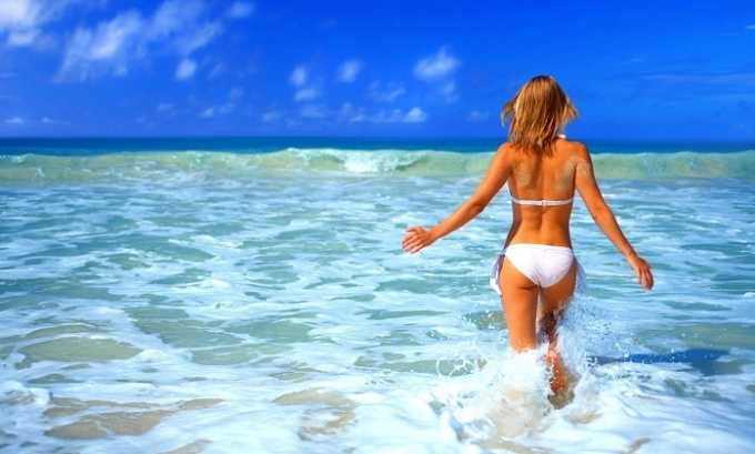 Риск заболевания циститом увеличивается с понижением температуры воды во время купания в море
