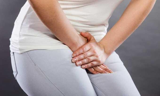 Одним из симптомов цистита являются рези во время мочеиспускания