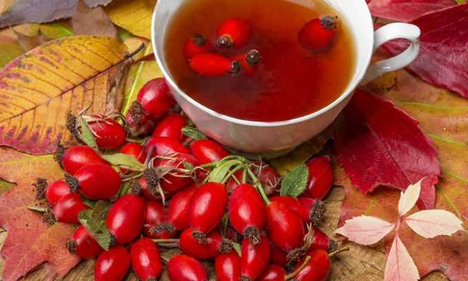Вылечить цистит помогают отвары корней и плодов шиповника
