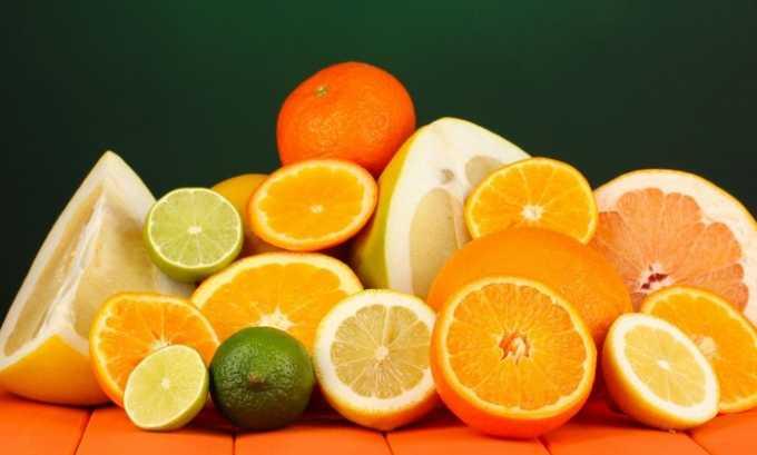 Запрещены апельсин, лимон и другие овощи и фрукты, приводящие к раздражению слизистой мочевого пузыря