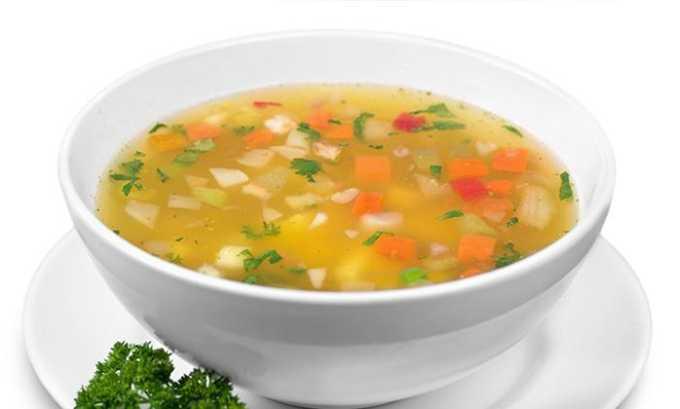 Овощной суп при цистите всегда назанчается лечащим врачом
