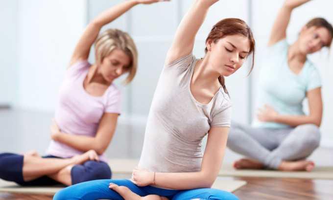 Положительный результат принесет йога