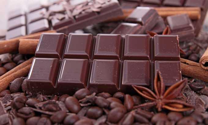 Шоколад нельзя употреблять при цистите и пиелонефрите