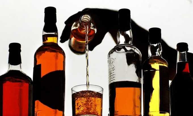 Категорически запрещен алкоголь