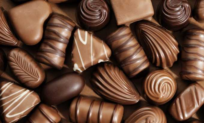 При остром цистите рекомендуется исключить из рациона шоколад