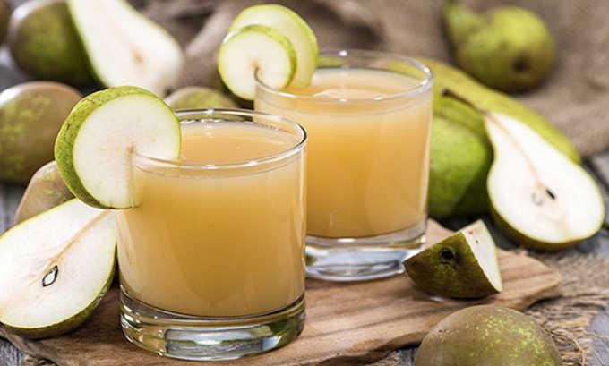 Больным циститом можно употреблять грушевый сок