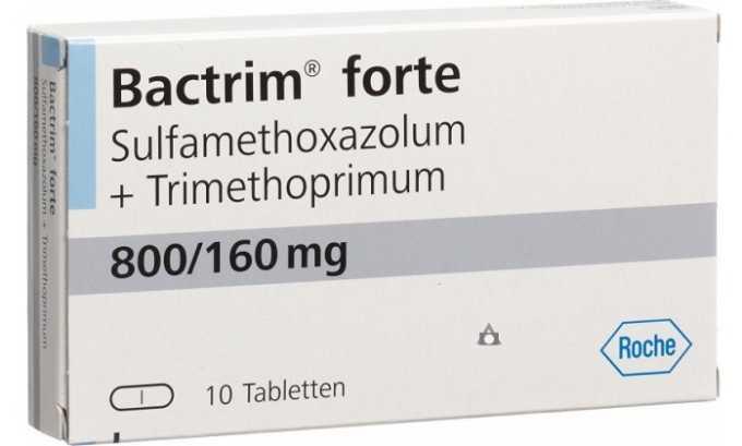 Хороший эффект дает комбинированный антибиотик Бактрим