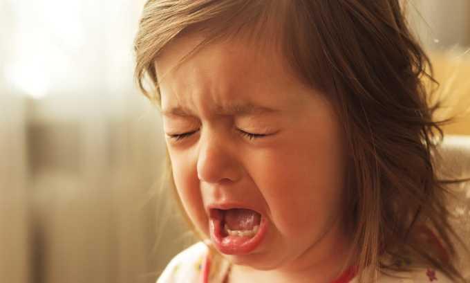 При цистите у девочек наблюдается плаксивость